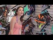 Bikini gf fucked in bikini shop