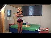 Hot blonde ex-model Claudia in porn casting in Z&uuml_rich