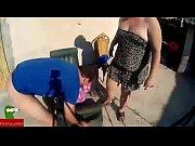 fat woman sunbathes nude ADR00129