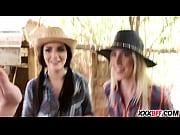 Farm girls sharing a hard dick
