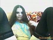 hairy girl does jezcams.com