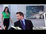 (veronica vain) office girl with big boobs enjoy.