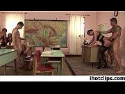 A Busty Wild Euro Teacher fucks whole class