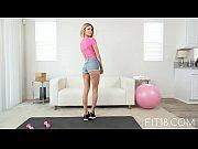 FIT18 Emma Hix 47kg Casting Skinny Canadian Blonde 60FPS