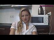 blonde amateur demoiselle prepares for the webcam session