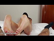 Angelina Elise - Footjob For Protein
