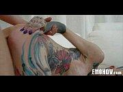 Emo slut with tattoos 0692