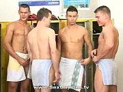 Gay locker room gangbang Thumbnail