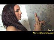Interracial gloryhole amazing blowjob video 6