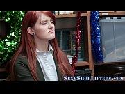 Caught teen shoplifter bj