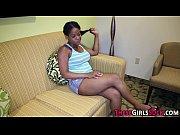 Black teen pov stroking