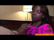 Black nubian handjob slut wanking cock