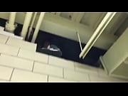 dirty wall gets mounted in lockerroom