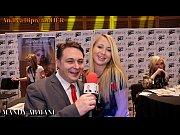 Mandy Armani simulates a blowjob for Andrea Dipr&egrave_
