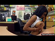 ebony babe gets banged in the.