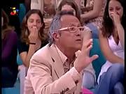 Cicciolina tenta converter Manuel Lu&iacute_s Goucha sem sucesso
