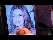 Jenna Fischer Cum Tribute (Cum Facial) Pam Beesly