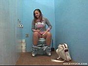 german denisa screws in the toilet of a.