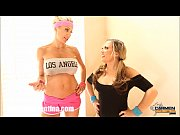 Carmen Valentina &amp_ Puma Swede'_s Slutty Work Out!