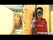 CULIONEROS - Big Ass Latina Plays Paintball and Fucks in Colombia!