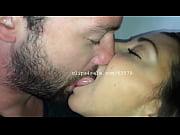 Dave and Samantha Kissing