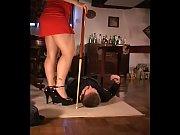 Facesitting waitress