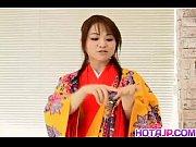 miina is undressed of kimono and.