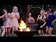 Aussie lesbians partying