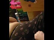 Big latina playing with tiny cock