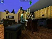 Sexe femme nue dans la cuisine pipe drole de fille