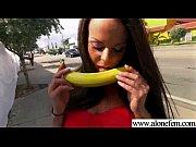alone horny girl love sex toys for masturbation clip-28
