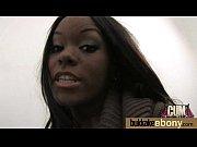 ebony babe have a hot group.