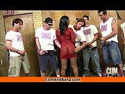 ebony girl gets slammed by some white dudes 21