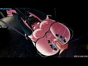 【Awesome Anime com】3D Anime busty girl got slave training