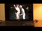 horny grandpa ulf larsen wank and orgasm in hotel
