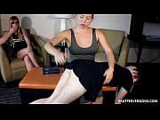 Catholic Spanking - Kendra Lynn and Olivia Kasady
