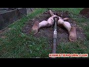 bdsm outdoor humiliation - dig slave.