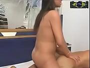 Camilla De Castro pumps her hot cock into Yuri