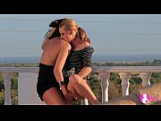 Stunning Lesbian Cuties in Outdoor sex - Viv Thomas HD Thumbnail