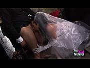 thumb horny bride gets a hard fuck