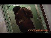 busty ebony lesbians having hot shower.
