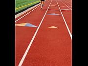 hot milf jogging!