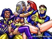 thumb Famous Carto on Superheroes Porn Parody