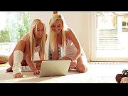 Nubile Films - Teen lesbians go muff diving