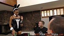 Ebony whores face jizzed Thumbnail