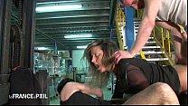 Directrice de 35 ans sodomisée dans l'entrepôt! Thumbnail
