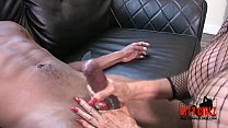 MILF Jacks off amateur BBC at the porn tryouts massive CUM SHOT  Sally D'angelo - 9Club.Top