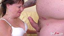 Screenshot AgedLovE Mat ure Lady Enjoy Sex with Handy Man