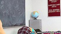 InnocentHigh Firmtits schoolgirl Dillion Harper classroom hardcore sex