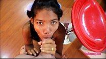 Image: Tiny Asian Teen Heather Deep Anal Creampie on Bar Stool After Deepthroating Monster Big  Cock